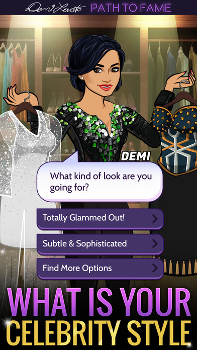 Screenshots of Demi Lovato: Path to Fame for iPhone