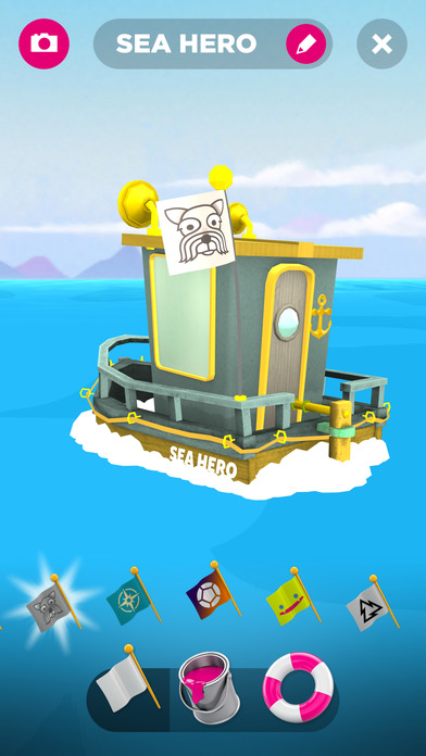 Sea Hero Quest Screenshot