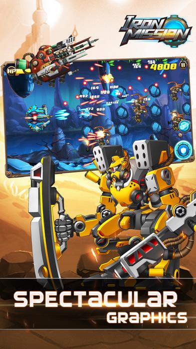 Iron Mission- classic arcade shoot'em up Screenshot