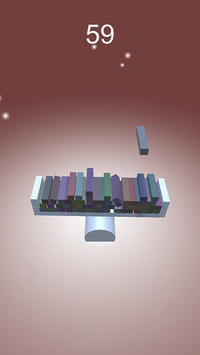 Balance - Stack blocks and don't fall Screenshot
