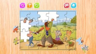 Мультфильм Головоломка - Головоломка Загадки Ящик для Джуди Хоппс и Ник - Дети Малыш и дошкольного обучения игры Скриншоты3