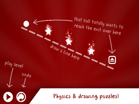 Drawtopia Premium - Physics & drawing puzzles for your brain Screenshots