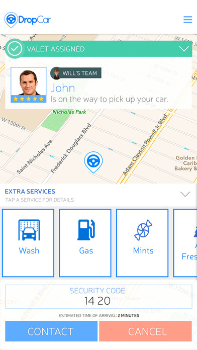 DropCar - Valet Parking on Demand. on the App Store