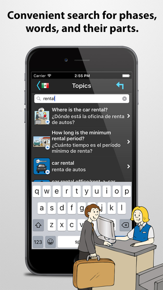 Travel Interpreter - Multilingual Phrasebook Screenshots