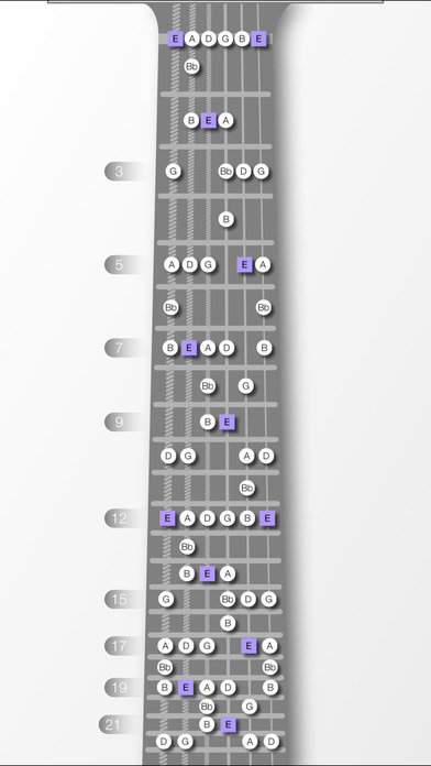 GuitarScales Free iPhone Screenshot 2