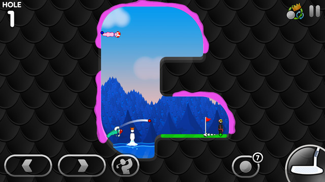 Super Stickman Golf 3 Screenshots