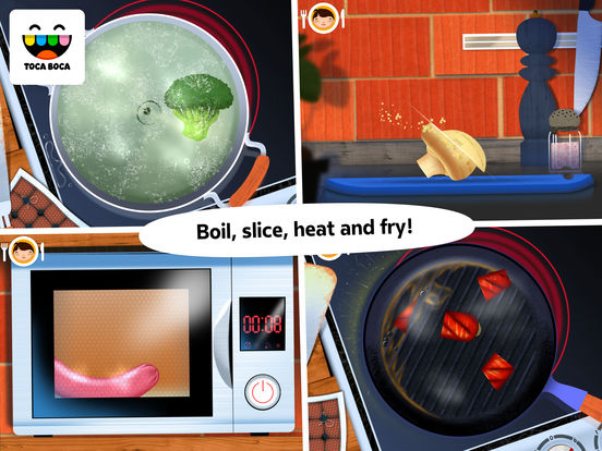 Screenshot #3 for Toca Kitchen
