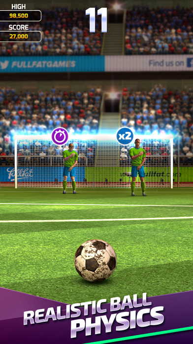 Flick Soccer 17 Screenshot