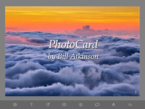 PhotoCard by Bill Atkinson screenshot