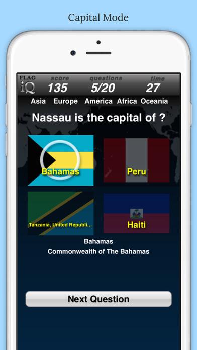 FlagIQ iPhone Screenshot 2