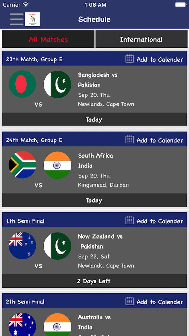 App Shopper: Cricket LIVE Scores - Live Streaming,IPL Live Version,BBL ...