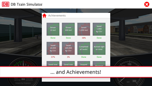 DB Train Simulator Screenshots