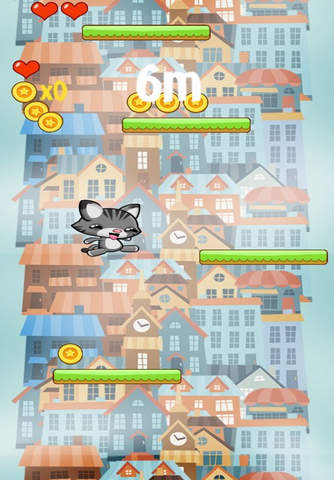 Happy Cat Jump City screen