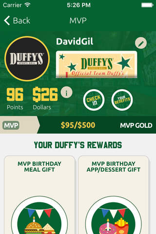 Duffy's MVP screenshot 3
