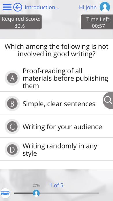 Writing for iPad iPhone Screenshot 2