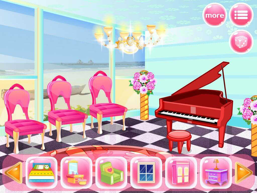 Princess Bedroom House Design Decoration Game For Girls And Kids Share On House Gamesfor