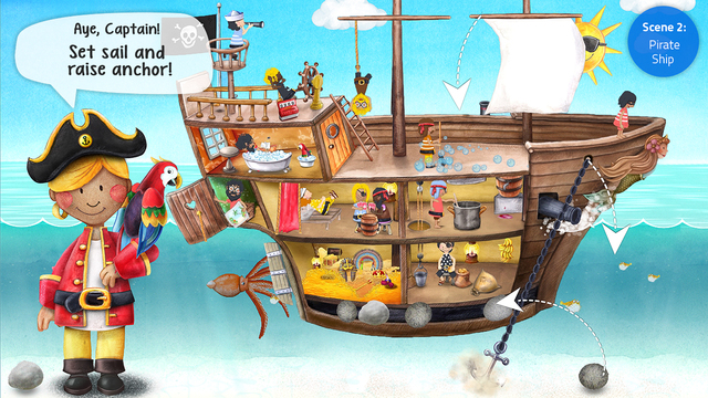 Tiny Pirates - Kids' Activity App Screenshots