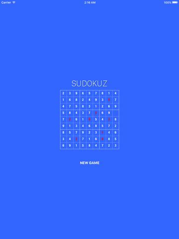 Sudokuz - Enter the numbers Screenshots