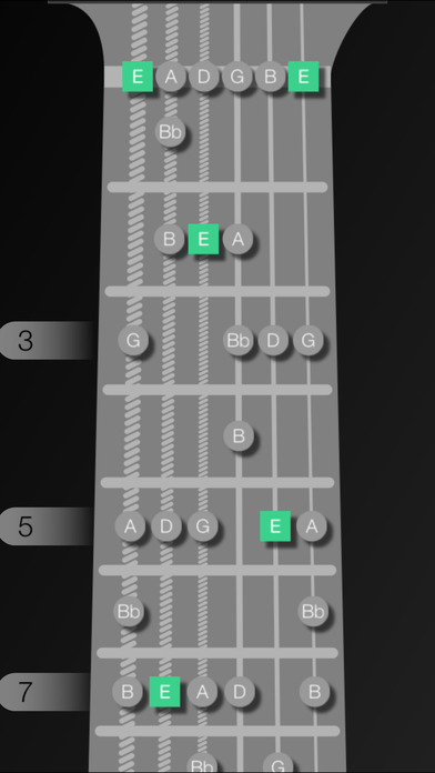GuitarScales Free iPhone Screenshot 4