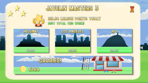 Javelin Masters 3 Screenshots