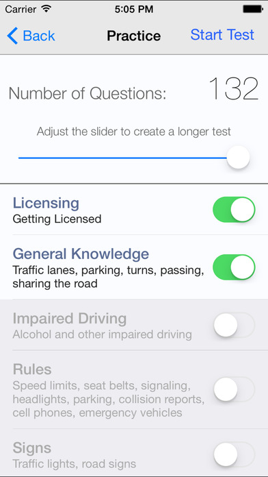 DMV Test Prep - North Carolina iPhone Screenshot 3