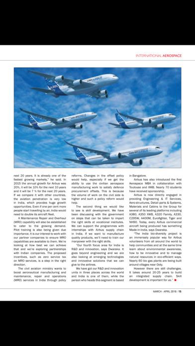 International Aerospace iPhone Screenshot 2