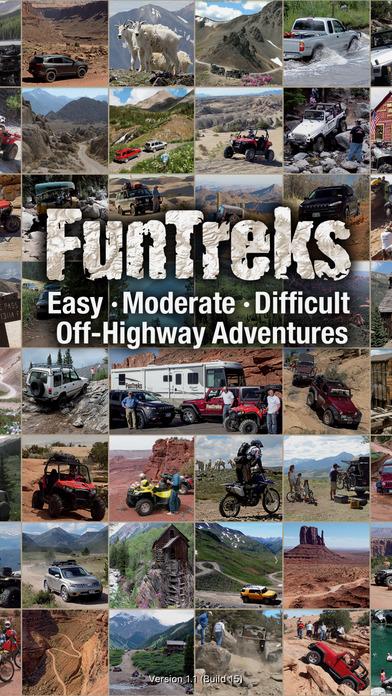 FunTreks 4x4 Trails, GPS Navigation & Offroad Maps app image