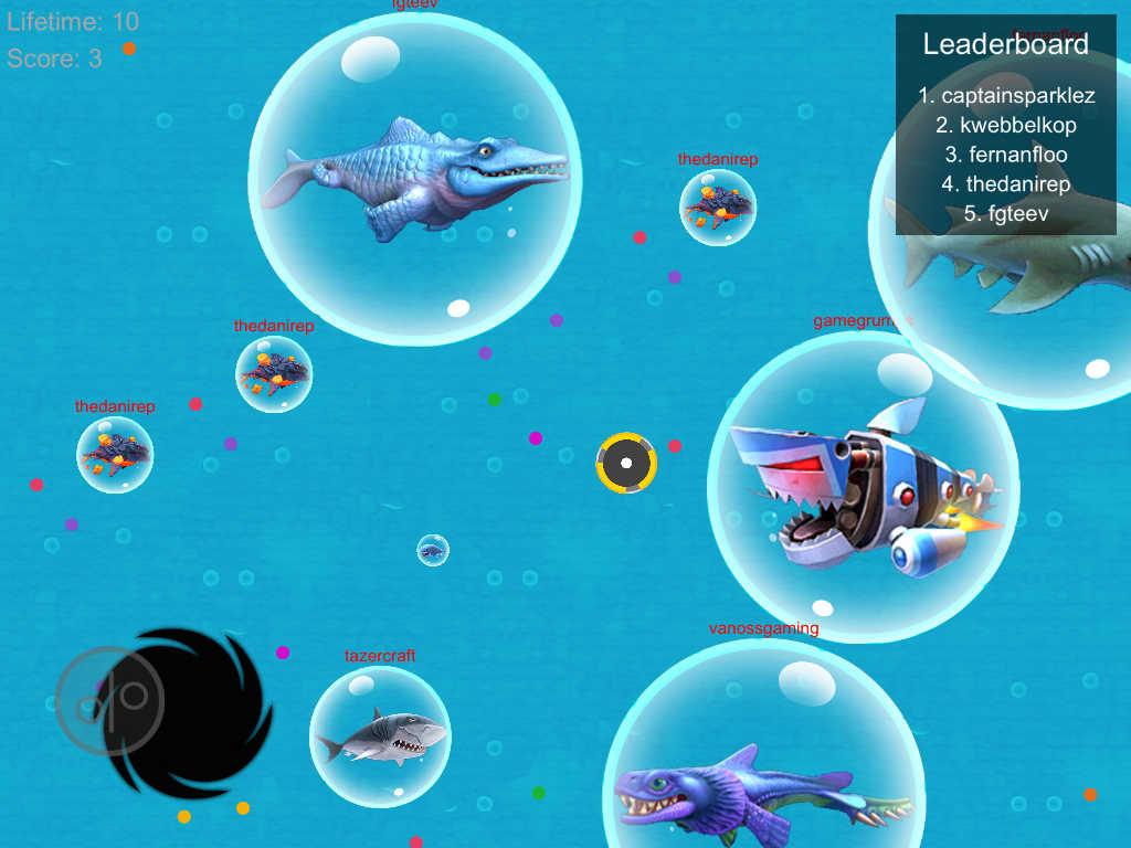 App shopper war of sharks battle fish challenge master for Fish io games