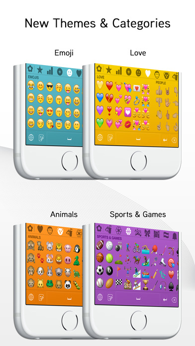 Screenshots of Emoji> for iPhone