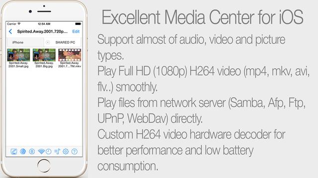 BUZZ Player HD Screenshots