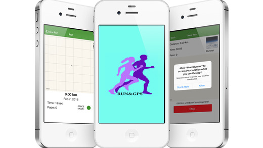 Run Tracker : Walk / Run in Map and Keep History . Screenshots