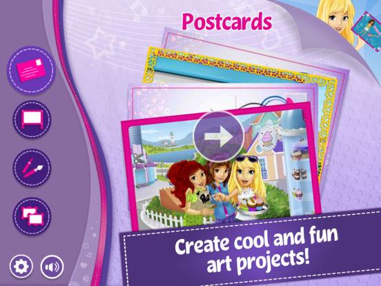 LEGO® Friends Maker Studio Screenshot