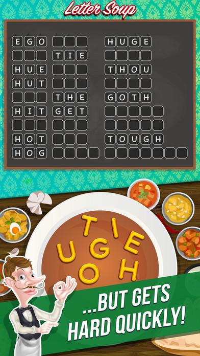 Letter Soup Cafe - Anagram Word Game Screenshot