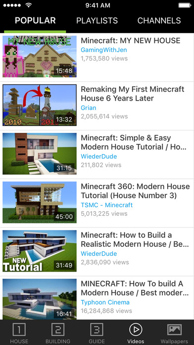 Screenshot for House Guide for Minecraft PE (Pocket Edition) in United States App Store