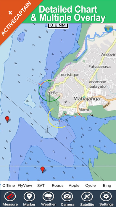 Zanzibar HD - Travel Map Navigator iPhone Screenshot 1