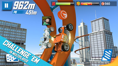 Hot Wheels: Race Off screenshot 3