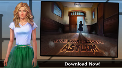 Screenshots of Adventure Escape: Asylum (Murder Mystery Room, Doors, and Floors Point and Click Story!) for iPhone