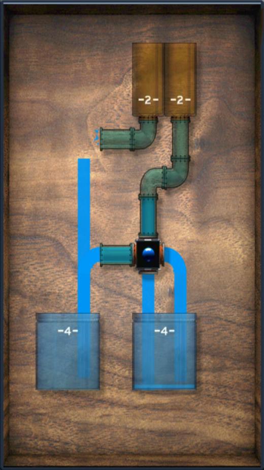 一起来挑战这个高难度智力游戏! 我们的目标:将水通过管道分到水箱里,每个水箱都要装满,不能多也不能少。 开动脑筋,合理布局管道线路; 精心算计,正确分配水箱水量; 不断尝试,充分利用道具功能; 你就是分水大师!