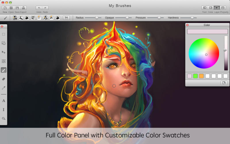 MyBrushes - Paint, Draw, Sketch Screenshots