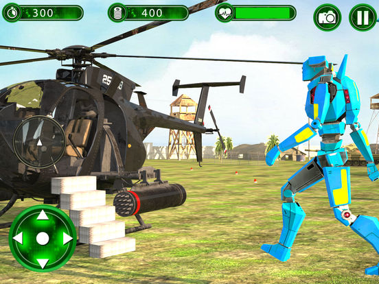 Super Helicopter Robot Hero screenshot 7
