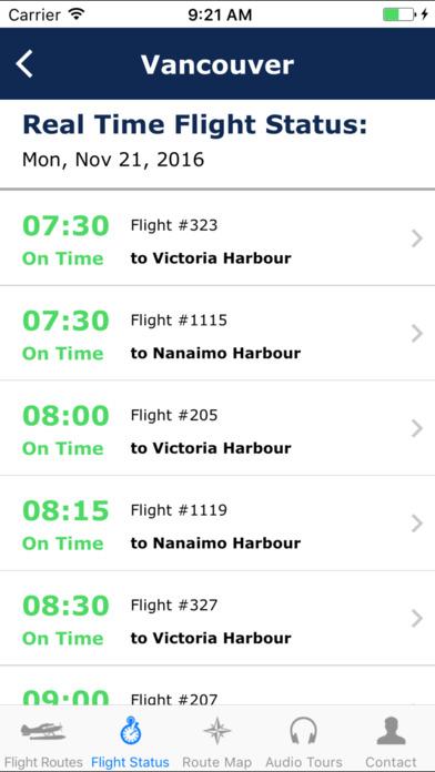 Harbour Air Seaplanes / Westcoast Air iPhone Screenshot 2