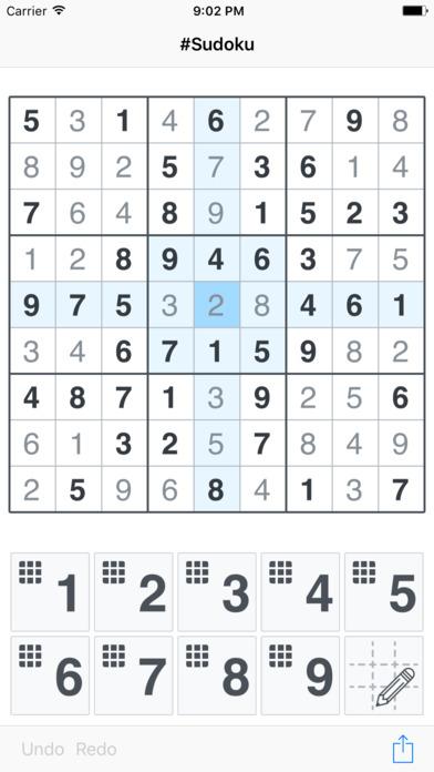 #Sudoku Screenshots