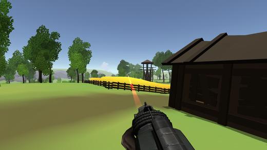 Creepy Clown Zombie Slayer Virtual Reality Sim Screenshot
