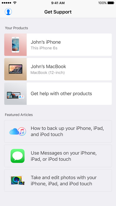 Apple Releases Its New App Called Apple Support App