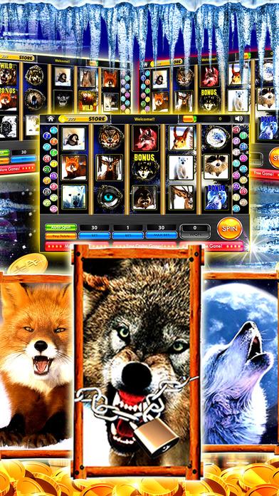Screenshot 3 Wolf Alaska Slot Machines – Spin wild and get rich