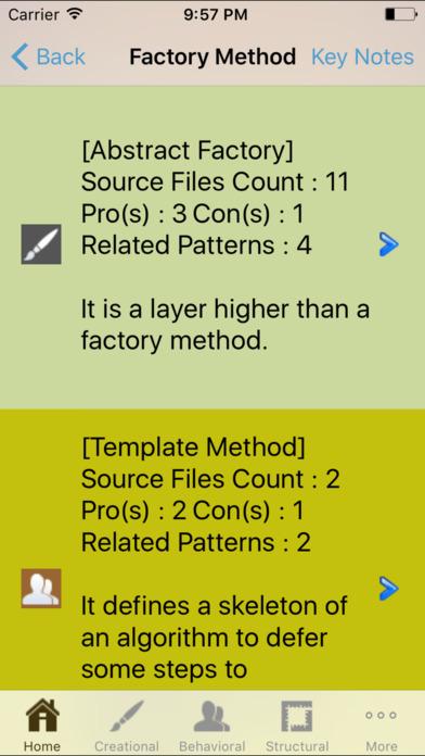 Design Pattern iPhone Screenshot 4