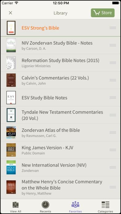 ESV Study Bible for BibleReader iPhone Screenshot 5