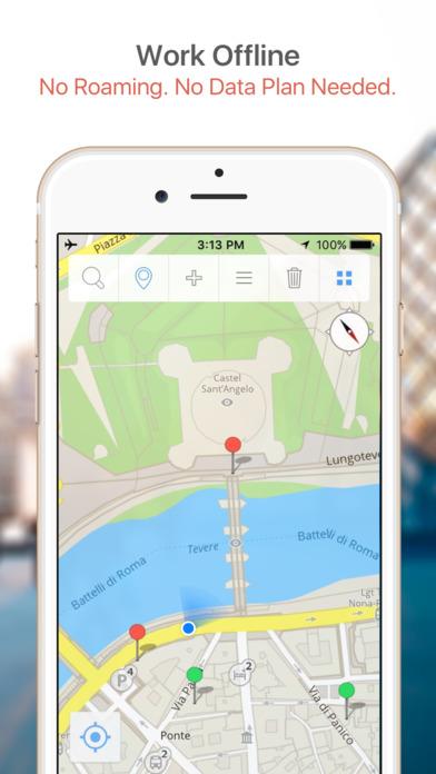 Charleston Map and Walking Tours iPhone Screenshot 2