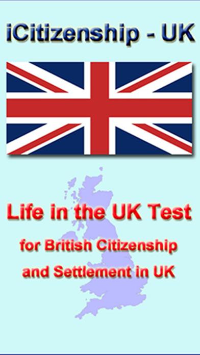 iCitizenship - UK Citizenship Test iPhone Screenshot 1
