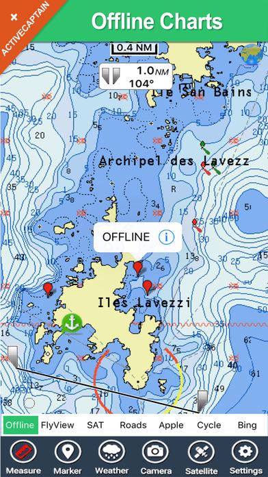 Marine: Solent - GPS Map Navigator iPhone Screenshot 2